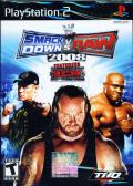 WWE Smackdown vs. Raw 2008 PlayStation 2 Front Cover