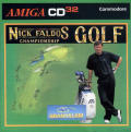Nick Faldo's Championship Golf Amiga CD32 Front Cover