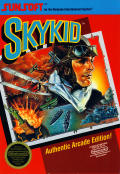 Sky Kid NES Front Cover