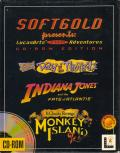 Softgold presents: LucasArts Top Adventures (CD-Rom Edition) DOS Front Cover