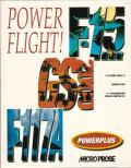 Power Flight! DOS Front Cover