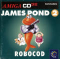 James Pond 2: Codename: RoboCod Amiga CD32 Front Cover