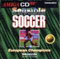 Sensible Soccer: European Champions: 92/93 Edition Amiga CD32 Front Cover
