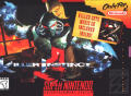 Killer Instinct SNES Front Cover