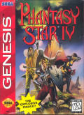 Phantasy Star IV Genesis Front Cover