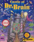 Castle of Dr. Brain Amiga Front Cover
