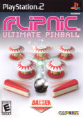 Flipnic: Ultimate Pinball PlayStation 2 Front Cover