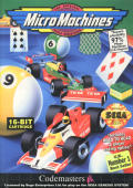 Micro Machines Genesis Front Cover