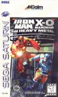 Iron Man / X-O Manowar in Heavy Metal SEGA Saturn Front Cover