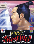 First Samurai Amiga Front Cover