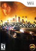 Need for Speed: Undercover Wii Front Cover