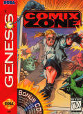 Comix Zone Genesis Front Cover