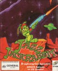 Jazz Jackrabbit CD-ROM DOS Front Cover