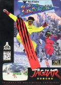 Val d'Isère Skiing and Snowboarding Jaguar Front Cover