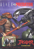 Alien Vs Predator Jaguar Front Cover