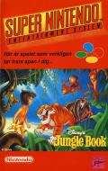 Disney's The Jungle Book SNES Front Cover