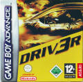 Driv3r Game Boy Advance Front Cover