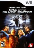 Fantastic Four: Rise of the Silver Surfer Wii Front Cover
