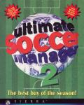 Ultimate Soccer Manager 2 DOS Front Cover
