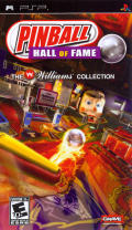Pinball Hall of Fame: The Williams Collection PSP Front Cover