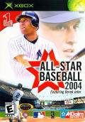 All-Star Baseball 2004 Xbox Front Cover