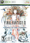 Final Fantasy XI Online: Wings of the Goddess Xbox 360 Front Cover