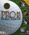 Pro 18 World Tour Golf Windows Front Cover