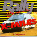 Rally Championship: The X-Miles add-on Windows Front Cover