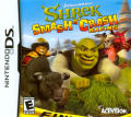 Shrek Smash N' Crash Racing Nintendo DS Front Cover