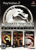 Mortal Kombat: Kollection PlayStation 2 Front Cover