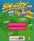 SimCity Graphics Set 1: Ancient Cities Amiga Front Cover