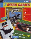 3 Mega Games: Simulations DOS Front Cover
