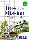 Rescue Mission SEGA Master System Front Cover