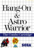 Hang-On & Astro Warrior SEGA Master System Front Cover