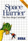 Space Harrier SEGA Master System Front Cover
