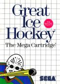 Great Ice Hockey SEGA Master System Front Cover