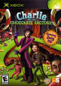 Charlie and the Chocolate Factory Xbox Front Cover