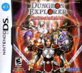 Dungeon Explorer: Warriors of Ancient Arts Nintendo DS Front Cover