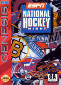 ESPN National Hockey Night Genesis Front Cover