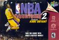 NBA Courtside 2: Featuring Kobe Bryant Nintendo 64 Front Cover