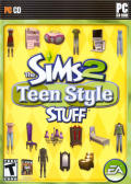 The Sims 2: Teen Style Stuff Windows Front Cover