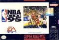 NBA Live 95 SNES Front Cover