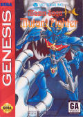 Mazin Saga: Mutant Fighter Genesis Front Cover