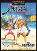 Shadow Blasters Genesis Front Cover