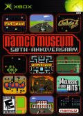 Namco Museum: 50th Anniversary Xbox Front Cover