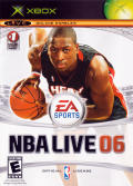 NBA Live 06 Xbox Front Cover