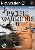 Pacific Warriors II: Dogfight PlayStation 2 Front Cover