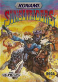 Sunset Riders Genesis Front Cover
