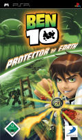 Ben 10: Protector of Earth PSP Front Cover