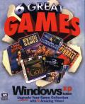 6 Great Games: Windows XP Edition Windows Front Cover